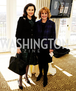 Alexandra de Borchgrave,Ann Hand,March 7,2013,A Luncheon for Alma Powell,Kyle Samperton