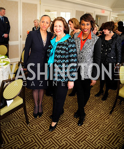 Irasema Salcido,Alma Powell,Ayris Scales,March 7,2013,A Luncheon for Alma Powell,Kyle Samperton