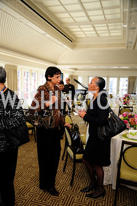 Alexine Jackson, Irasema Salcido,March 7,2013,A Luncheon for Alma Powell,Kyle Samperton