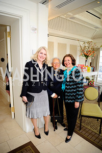 Jan Donladson,Lovida Coleman,Alma Powell,March 7,2013,A Luncheon for Alma Powell,Kyle Samperton