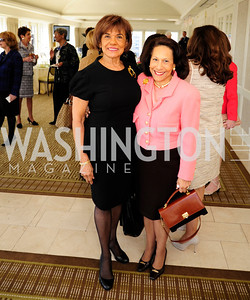 Denia Hightower,Gail West,March 7,2013,A Luncheon for Alma Powell,Kyle Samperton