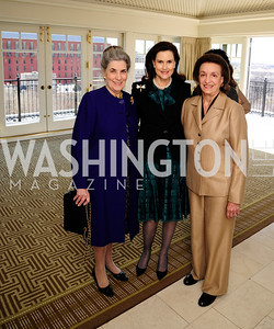 Barbara Albritton,Alexandra de Borchgrave,Lucky Roosevelt,March 7,2013,A Luncheon for Alma Powell,Kyle Samperton