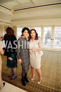 Shamin Jawad,Samia Farouki,March 7,2013,A Luncheon for Alma Powell,Kyle Samperton