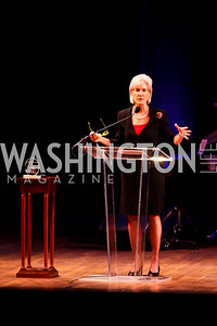 Kathleen Sebelius. Photo by Tony Powell. A Standing Ovation for DC Teachers. Kennedy Center. January 14, 2013