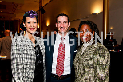 Ahnna Smith, Justin Bakewell, Monica Thompson. Photo by Tony Powell. A Standing Ovation for DC Teachers. Kennedy Center. January 14, 2013