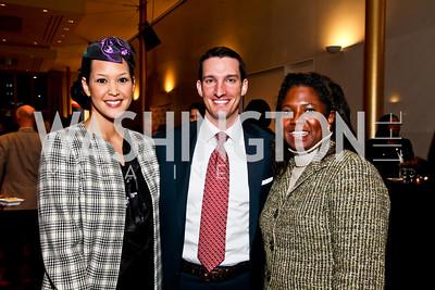 Ahnna Smith, Justin Bakewell, Monica Thompson. Photo by Tony Powell. A Standing Ovation for DC Teachers. Kennedy Center. January 14, 2013