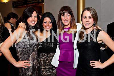 Bethany Sullivan, JoAnn Hill, Alyson Perschke, Abigail Maslin. Photo by Tony Powell. A Standing Ovation for DC Teachers. Kennedy Center. January 14, 2013