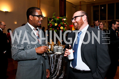 Maurice Kennard, Vincent Baxter. Photo by Tony Powell. A Standing Ovation for DC Teachers. Kennedy Center. January 14, 2013