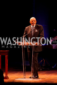Jim Vance. Photo by Tony Powell. A Standing Ovation for DC Teachers. Kennedy Center. January 14, 2013