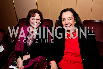 Elizabeth Stevens, Ann Jordan. Photo by Tony Powell. A Standing Ovation for DC Teachers. Kennedy Center. January 14, 2013