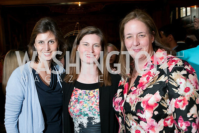 Ellie Moseley, Jeannette Windon, Kate Friedrich. Photo by Alfredo Flores. A Cocktail Reception at the Turkish Embassy Residence. April 26, 2013.