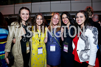Emily Lynch, Kyly Zakheim, Liz Stanwyck, Yasmine Johnson, Ariana Delawari. Photo by Tony Powell. AFI Silverdocs Opening Night Gala. Newseum. June 19, 2013