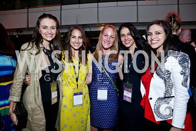 Emily Lynch, Kyly Zakheim, Liz Stanwyck, Yasmine Johnson, Ariana Delawari. Photo by Tony Powell. AFI Silverdocs Opening Night Gala. Newseum. June 19, 2013
