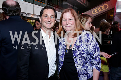 David Gale, Susan Koch. Photo by Tony Powell. AFI Silverdocs Opening Night Gala. Newseum. June 19, 2013