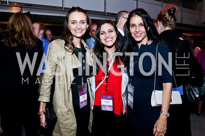 """We Came Home"" Producer Emily Lynch, Director Ariana Delawari, Producer Yasmine Johnson. Photo by Tony Powell. AFI Silverdocs Opening Night Gala. Newseum. June 19, 2013"
