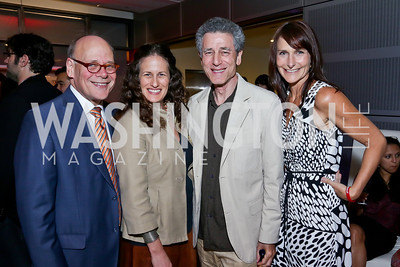 Rep. Steve Cohen, Julia Cohen, Dal LaMagna, Sarah Ingersoll. Photo by Tony Powell. AFI Silverdocs Opening Night Gala. Newseum. June 19, 2013