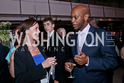 Lynzi Elizabeth Stevens, Jesse Price. Photo by Tony Powell. AFI Silverdocs Opening Night Gala. Newseum. June 19, 2013