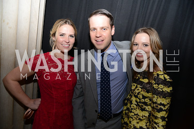 Meaghan Kelly, Phil More, Alex Haney, ARTINI, The Corcoran, 1869 Society.  March 22, 2013, Art and Cocktails.  Photo by Ben Droz.