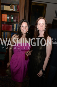 Anna Spiegel, Jessica Voelker,ARTINI, The Corcoran, 1869 Society.  March 22, 2013, Art and Cocktails.  Photo by Ben Droz.