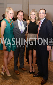 Lindley Thornberg, Joseph Richardson, Jennifer Key, Andrew Stein, ARTINI, The Corcoran, 1869 Society.  March 22, 2013, Art and Cocktails.  Photo by Ben Droz.