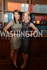 Melanie Kimmelman, Katie Funk,  ARTINI, The Corcoran, 1869 Society.  March 22, 2013, Art and Cocktails.  Photo by Ben Droz.