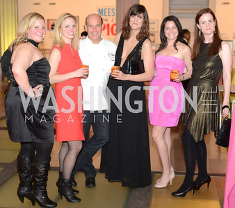 Gina Chersevani, Sarah Newman, Todd Gray, Svetlana Legetic, Anna Spiegel, Jessica Voelker, ARTINI, The Corcoran, 1869 Society.  March 22, 2013, Art and Cocktails.  Photo by Ben Droz.
