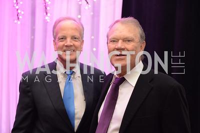 Senator Jerry Moran, Glen Campbell, National Alzheimer's Association Dinner at the Renaissance Hotel.  Honoring music legend Glen Campbell.  Photo by Ben Droz.