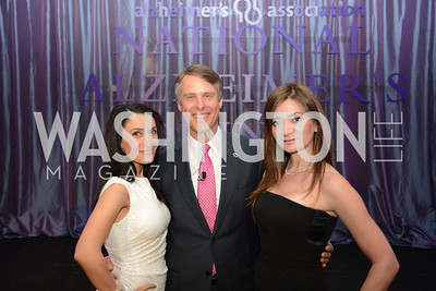Niloo Norton, Terry Moran, Jaleh Peyton, National Alzheimer's Association Dinner at the Renaissance Hotel.  Honoring music legend Glen Campbell.  Photo by Ben Droz.