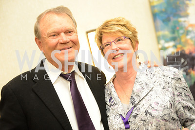 Dennis Moore, Candace Darcy, National Alzheimer's Association Dinner at the Renaissance Hotel.  Honoring music legend Glen Campbell.  Photo by Ben Droz.