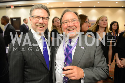 Harry Johns, Carl Tuerk, National Alzheimer's Association Dinner at the Renaissance Hotel.  Honoring music legend Glen Campbell.  Photo by Ben Droz.