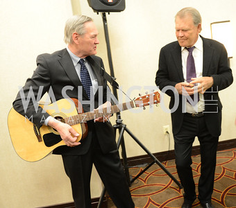 Former Congressman Dennis Moore, Glen Campbell, National Alzheimer's Association Dinner at the Renaissance Hotel.  Honoring music legend Glen Campbell.  Photo by Ben Droz.