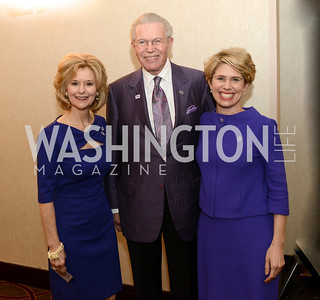 Debbie Jones, Gerry Sampson, Kimberly Reed,  National Alzheimer's Association Dinner at the Renaissance Hotel.  Honoring music legend Glen Campbell.  Photo by Ben Droz.