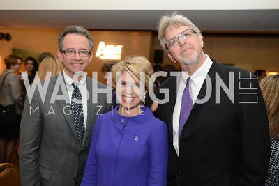 John Burklow, Kimberly Reed, Trevor Albert,  National Alzheimer's Association Dinner at the Renaissance Hotel.  Honoring music legend Glen Campbell.  Photo by Ben Droz.