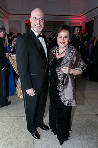 Bruce Allen, Amb. of Liechtenstein Claudia Fritsche. Photo by Alfredo Flores. Ambassadors Ball. Carnegie Library at Mt. Vernon. January 21, 2013.