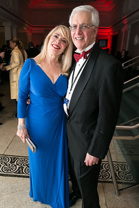 Bernadette Paolo, Alan Schlaifer. Photo by Alfredo Flores. Ambassadors Ball. Carnegie Library at Mt. Vernon. January 21, 2013.