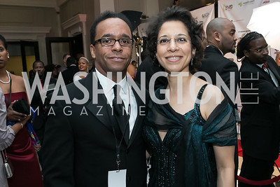 Kendal Tyre, Elizabeth Allen. Photo by Alfredo Flores. Ambassadors Ball. Carnegie Library at Mt. Vernon. January 21, 2013.