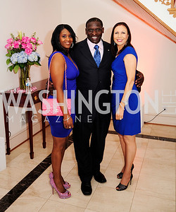 Tatyana McCall,Soloman Wilcots,Sharon Bowen,May 11,2013,An Evening of Pink ,Blue and Bling,Kyle Samperton