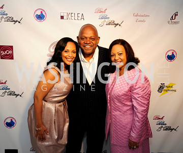 Kedist Liggins,Charles Dutton,Ethiopia Alfred,May 11,2013,An Evening of Pink ,Blue and Bling,Kyle Samperton