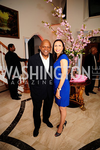 Charles Dutton,Sharon Bowen,May 11,2013,An Evening of Pink ,Blue and Bling,Kyle Samperton