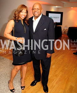 Charisse Jackson -Jordan,Charles Dutton,May 11,2013,An Evening of Pink ,Blue and Bling,Kyle Samperton