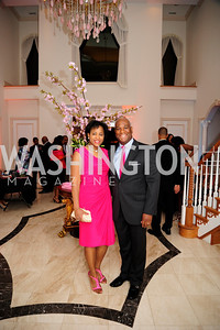 Janell Duncan,Larry Duncan,May 11,2013,An Evening of Pink ,Blue and Bling,Kyle Samperton