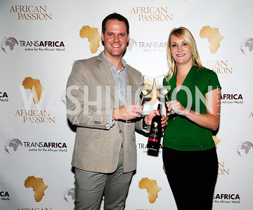Bryun Steenkamp,Tania Theron-Joubert,February 20,2013,An Evening with Danny Glover,Presented by African Passion Wines,Kyle Samperton