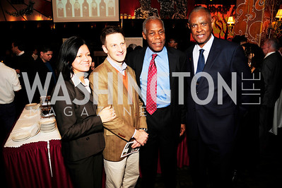 Monica Arciga,Carl LeVan,Danny Glover,Melvin Foote,February 20,2013,An Evening with Danny Glover,Presented by African Passion Wines,Kyle Samperton