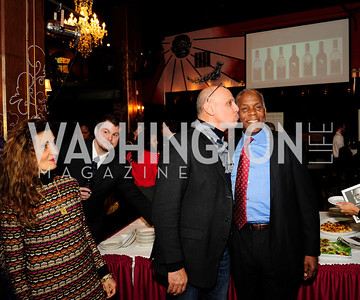 Marjan Shallal, Andy Shallal,Danny Glover,February 20,2013,An Evening with Danny Glover,Presented by African Passion Wines,Kyle Samperton