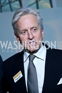 Michael Douglas. Photo by Tony Powell. Ploughshares Fund Gala 2013. Institute of Peace. October 28, 2013