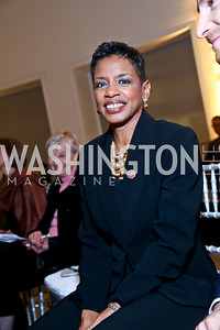 Rep. Donna Edwards. Photo by Tony Powell. Ploughshares Fund Gala 2013. Institute of Peace. October 28, 2013