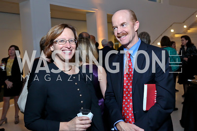 Lynn Rusten, Richard Fieldhouse. Photo by Tony Powell. Ploughshares Fund Gala 2013. Institute of Peace. October 28, 2013