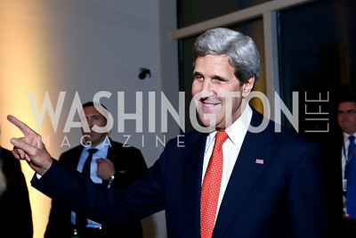 Sec. John Kerry. Photo by Tony Powell. Ploughshares Fund Gala 2013. Institute of Peace. October 28, 2013