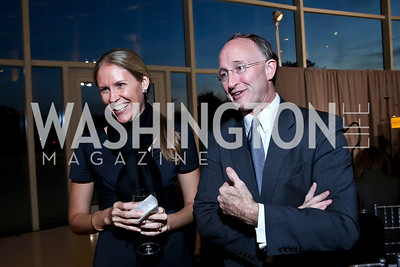 Kate Beale, Doug Maguire. Photo by Tony Powell. Ploughshares Fund Gala 2013. Institute of Peace. October 28, 2013