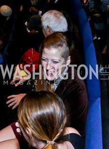 Meg Smolinski. Photo by Tony Powell. Anchorman II Q&A. Newseum. December 3, 2013